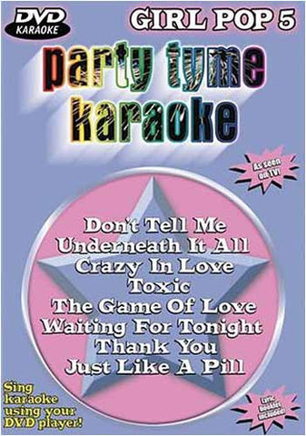 Party Tyme Karaoke: Girl Pop, Vol. 5 DVD Movie