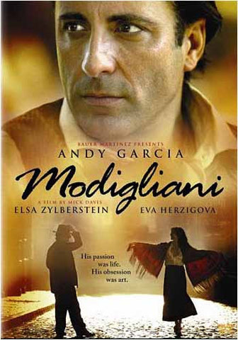 Modigliani (Bilingual) DVD Movie