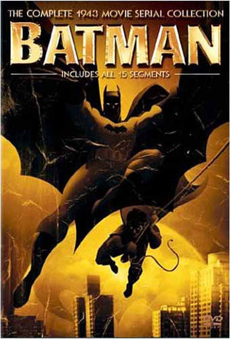 Batman - The Complete 1943 Movie Serial Collection DVD Movie