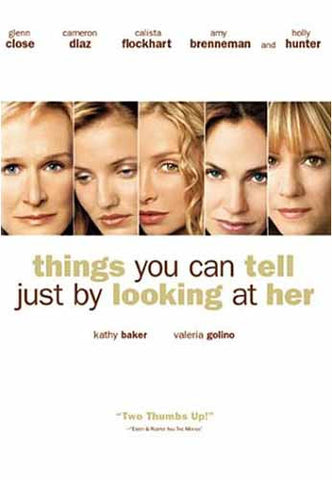 Things You Can Tell Just By Looking at Her (MGM) DVD Movie