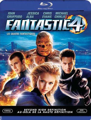 Fantastic Four (Blu-ray) (Bilingual) BLU-RAY Movie