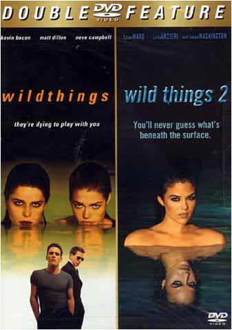 Wild Things/ Wild Things 2 (Double Feature) DVD Movie