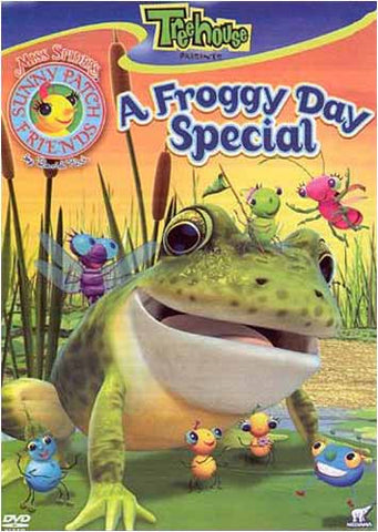 Miss Spider's Sunny Patch Friends - A froggy Day Special DVD Movie