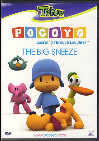 Pocoyo - The Big Sneeze DVD Movie