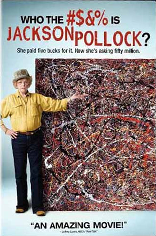 Who the #$&% Is Jackson Pollock? DVD Movie