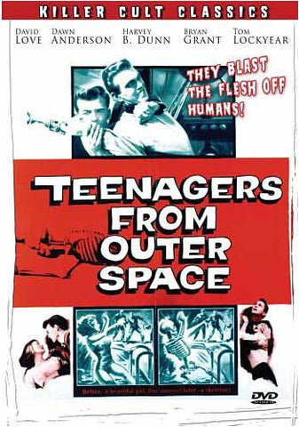 Teenagers from Outer Space DVD Movie