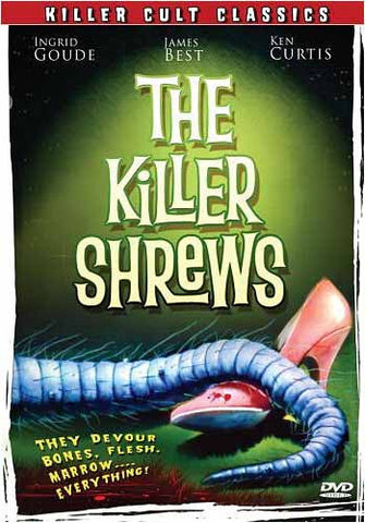 The Killer Shrews DVD Movie