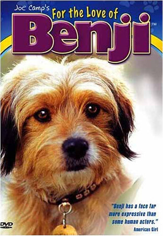 Benji - For the Love of Benji (Joe Camp s) DVD Movie