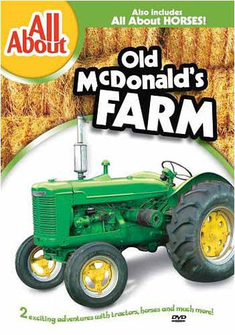 All About Old Mcdonald's Farm And Horses DVD Movie