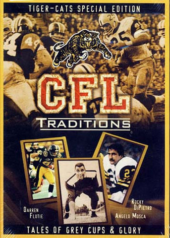 CFL Traditions - Hamilton Tiger cats special edition DVD Movie