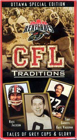 CFL Traditions - Ottawa Renegades Special edition DVD Movie