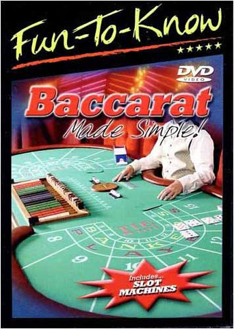 Fun to Know - Baccarat, Made Simple! DVD Movie