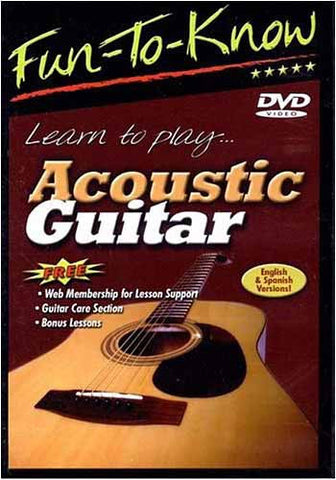 Fun To Know - Learn to Play Acoustic Guitar DVD Movie