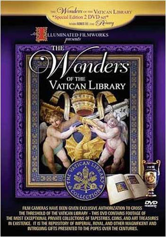 The Wonders of the Vatican Library DVD Movie