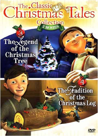 Christmas Tales Collection - Legend Of The Christmas Tree/ Tradition Of The Christmas Log - Vol.2 DVD Movie