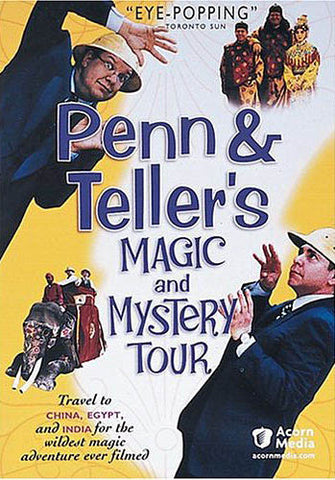 Penn And Teller's Magic And Mystery Tour DVD Movie