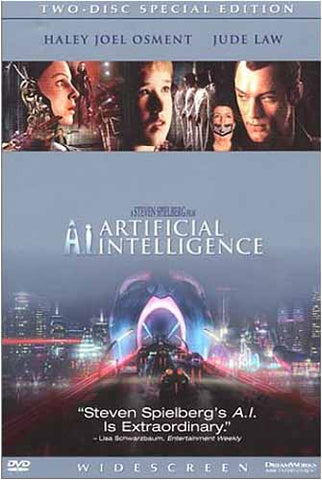 A.I. - Artificial Intelligence (Widescreen Two-Disc Special Edition) DVD Movie