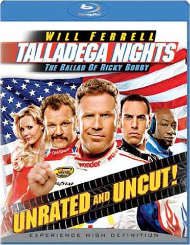 Talladega Nights: The Ballad of Ricky Bobby (Unrated and Uncut) (Blu-ray) BLU-RAY Movie
