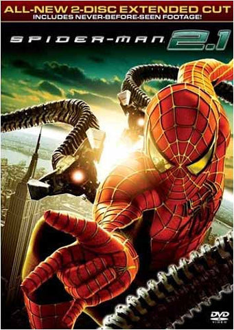 Spider-Man 2.1 (Two Disc Extended Cut) DVD Movie