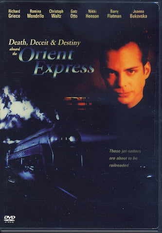 Death, Deceit And Destiny Aboard the Orient Express DVD Movie