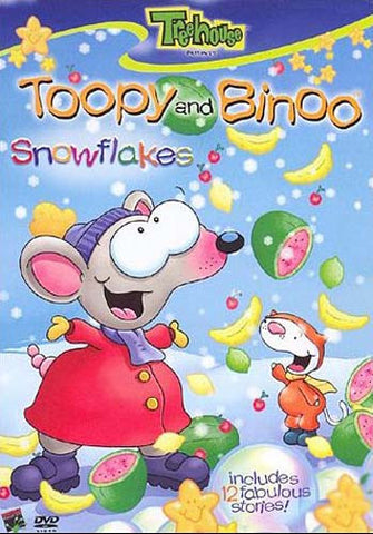Toopy and Binoo - Snowflakes (CA Version) DVD Movie