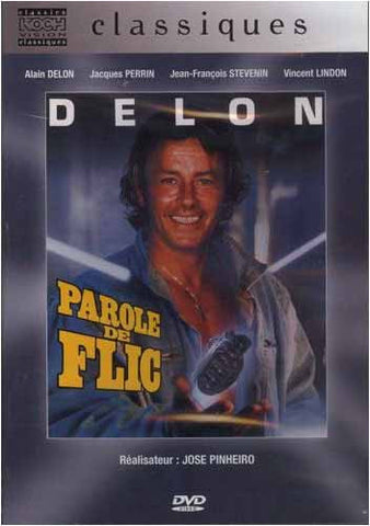 Parole De Flic - Alain Delon DVD Movie