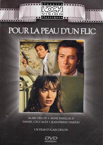 Pour La Peau D Un Flic - Alain Delon DVD Movie