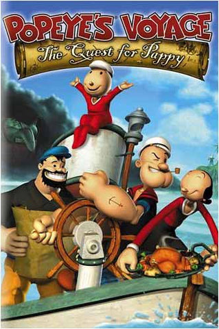Popeye's Voyage - The Quest for Pappy DVD Movie