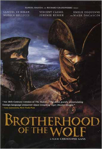 Brotherhood of The Wolf DVD Movie