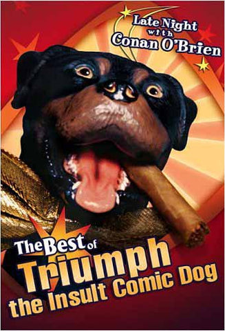 Late Night with Conan O'Brien - The Best of Triumph the Insult Comic Dog DVD Movie