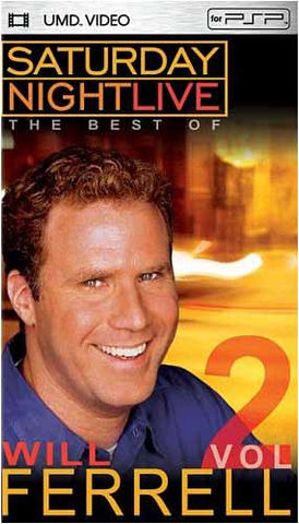 Saturday Night Live - The Best of Will Ferrell, Vol. 2 (UMD For PSP) DVD Movie