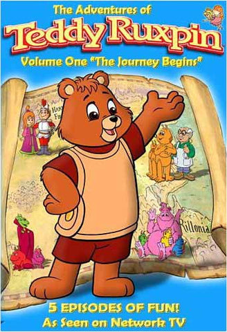 The Adventures of Teddy Ruxpin - Journey Begins,Vol. 1 (5 Episodes) DVD Movie