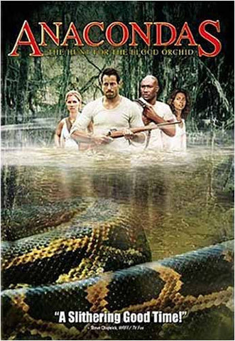 Anacondas - The Hunt for the Blood Orchid DVD Movie