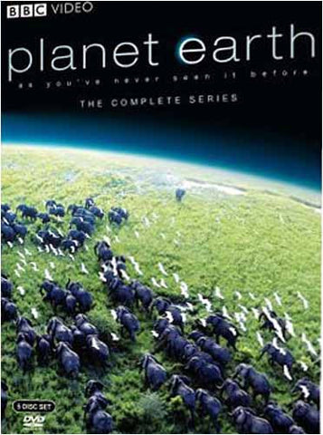 Planet Earth - The Compete Series (Boxset) DVD Movie