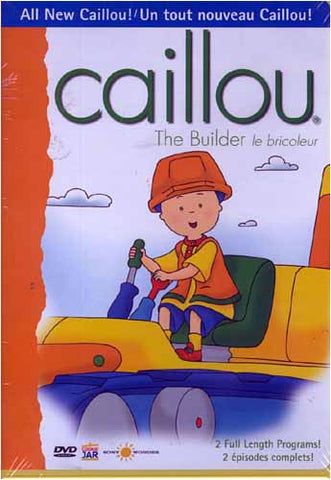 Caillou - The Builder DVD Movie