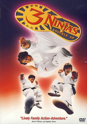 3 Ninjas Knuckle Up DVD Movie
