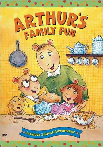 Arthur: Arthur's Family Fun DVD Movie