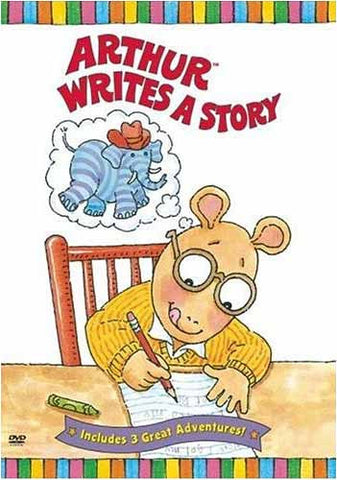 Arthur Writes a Story DVD Movie