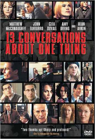 13 Conversations About One Thing DVD Movie