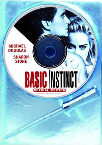 Basic Instinct (Special Edition) (Incl. Ice Pick Pen) DVD Movie