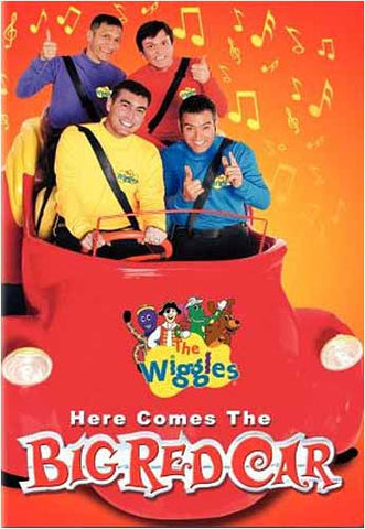 The Wiggles - Here comes The Big Red Car DVD Movie