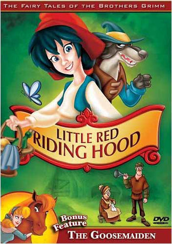 Little Red Riding Hood / The Goosemaiden - The Brothers Grimm DVD Movie