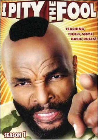 I Pity the Fool - Season 1 DVD Movie