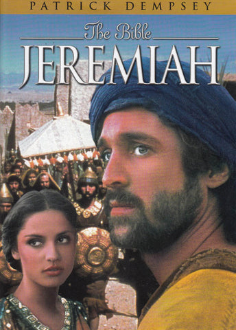 Jeremiah - The Bible (Patrick Dempsey) (Blue Cover) DVD Movie