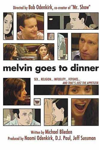 Melvin Goes to Dinner DVD Movie