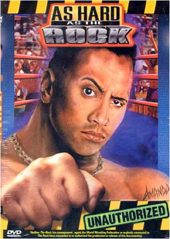 As Hard as The Rock DVD Movie