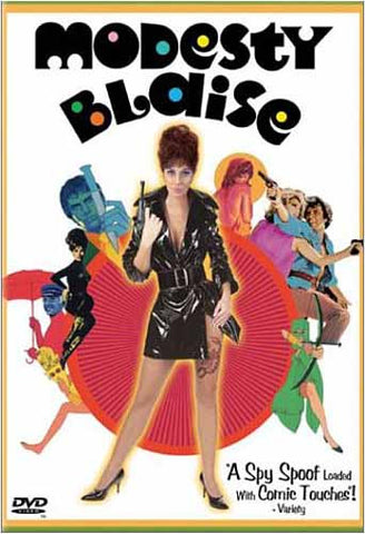Modesty Blaise DVD Movie