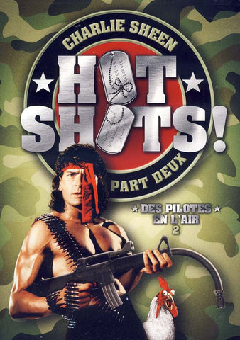 Hot Shots! Part Deux (Des Pilotes En L'Air 2) DVD Movie
