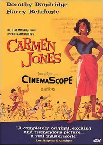 Carmen Jones (Yellow Cover) DVD Movie