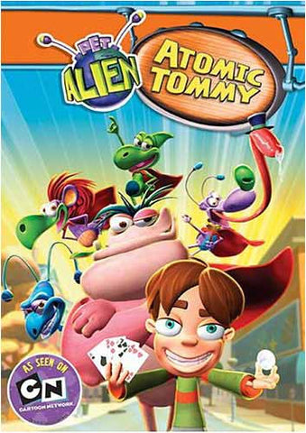 Pet Alien - Atomic Tommy DVD Movie